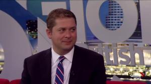 Conservative leader Andrew Scheer on pot legalization